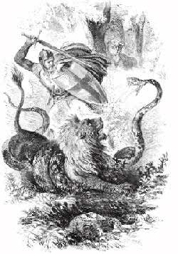 yvain the knight with the lion Yvain yvain (ee-vah[n]), a knight of the round table after hearing of calogrenant's misadventure at the magic spring, yvain avenges him and kills the knight at the spring.